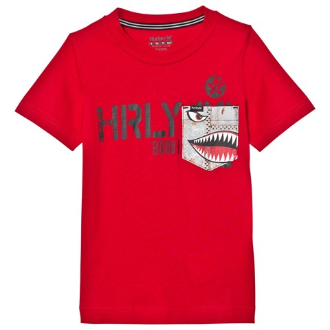 Gym Red Pocket Play Tee