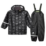 Celavi Black Rainwear Set