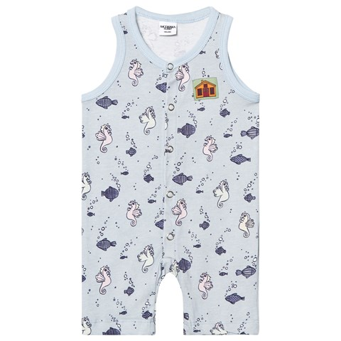 Modéerska Huset Going for a Ride Sleeveless Babygrow