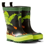 Viking Black/Lime Drage Wellington Boots