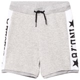 Diesel Grey Branded Basketball Sweat Shorts