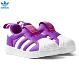 adidas Purple Superstar 360 Slip On Trainers