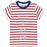 Nova Star Off White and Red Line T-Shirt