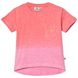 Nova Star Pink and Coral Dip Dyed T-Shirt