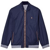 Mayoral Navy Reversible into Check Bomber Jacket