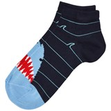 Falke Navy Shark Sneaker Socks