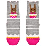 Falke Grey Easter Surprise Catspads Socks