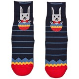 Falke Navy Easter Surprise Catspads Socks