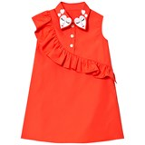 Vivetta Red Frill Front Dress