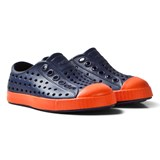 Native Navy and Red Jefferson Rubber Shoes