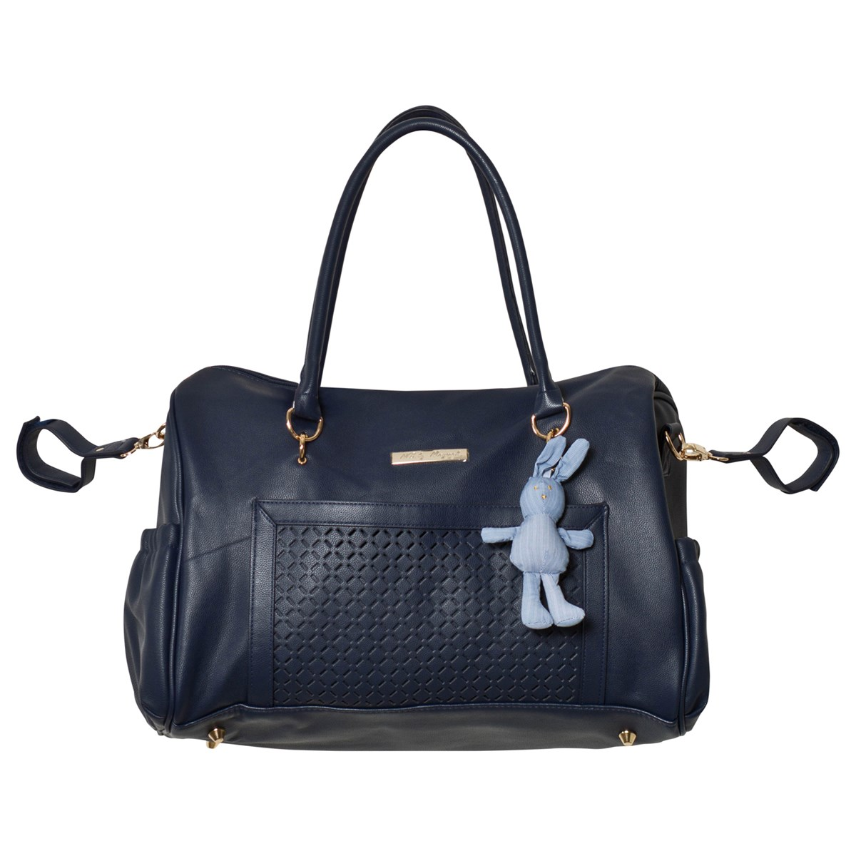 e9ed1e45d5da5 Mayoral Navy Changing Bag with Rabbit Charm