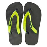 Havaianas Kids Grey and Yellow Top Mix Flip Flops