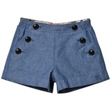Burberry Chambray Mini Etty Shorts