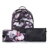 Tiba + Marl Flower Print Front Zip Elwood Backpack