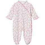 Kissy Kissy Pink Multi Floral Cross Over Babygrow