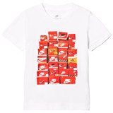 Nike White Shoe Box Kids Tee