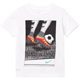 Nike White Soccer Stipple Tee