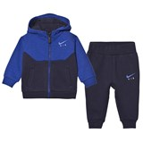 Nike Navy Infants Air Fleece Hoodie and Joggers Set
