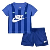 Nike Blue Infants Team Nike Kit Tee and Shorts Set