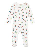 Stella McCartney Kids White Pineapple Print Body