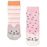 Joules Pack of 2 Cat and Mouse Socks