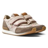 10 IS Blush Taupe Print Liberty Fleuret Trainers