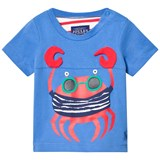 Joules Blue Crab Applique Tee