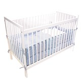 Basson Baby White Bed