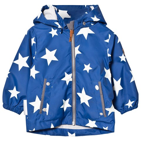 Blue Star Jacket Klas With Detachable Hood
