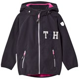 Ticket To Heaven Total Eclipse Blue Kristar Fleece Jacket With Detachable Hood