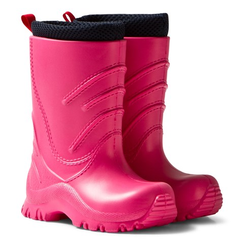 Pink Frillo Rainboot