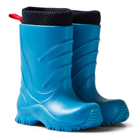 Blue Frillo Rainboot