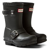 Hunter Black Kids Biker Boots
