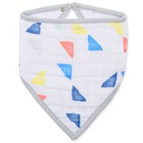 Aden + Anais Leader Of The Pack Triangles Classic Bandana Bib