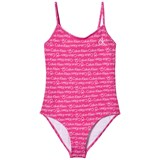 Calvin Klein Pink Branded Swimsuit