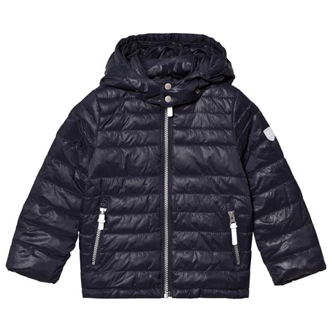 Total Eclipse Blue Jacket Chris Lightweight Padding With Detachable Hood