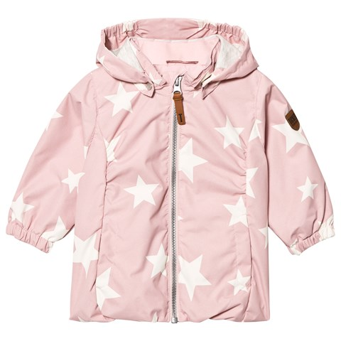 Peachskin Rose Althea Jacket With Detachable Hood