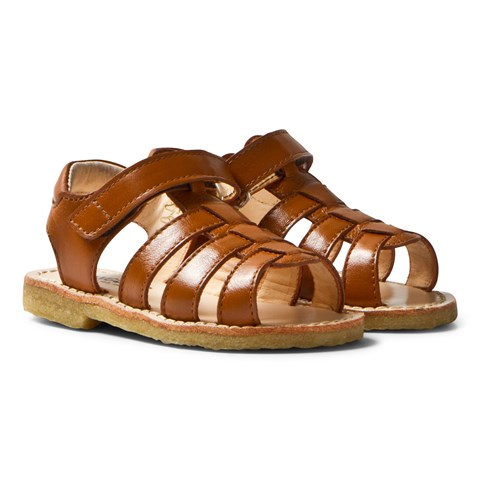 Angulus Tan Open Toe Sandals
