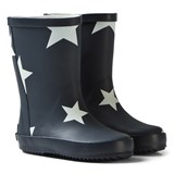 Ticket To Heaven Blue Total Eclipse Rubber Boots