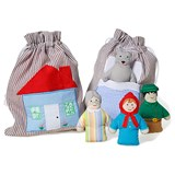 oskar&ellen Little Red Riding Hood Story Bag