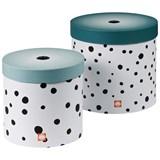 Done by Deer Happy Dots Round Box Set