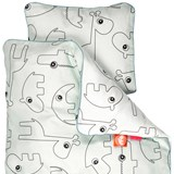 Done by Deer Baby Blue Contour Bedding Set