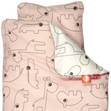 Done by Deer Baby Powder Contour Bedding Set