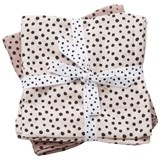 Done by Deer Pack of 2 Powder Pink Happy Dots Swaddles