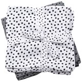 Done by Deer Pack of 2 Grey Happy Dots Swaddles