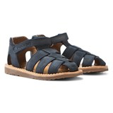 Pom D'api Navy Waff Papy Sandals