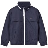Gant Navy Windbreaker with Reflective Detail