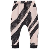 Koolabah Pink and Black Lines Slouchy Pants