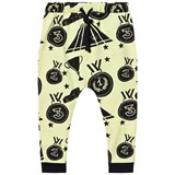 Koolabah Yellow and Black Victory Slouchy Pants