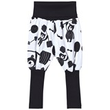 Koolabah White/Black Strong Bear Balloon Pants